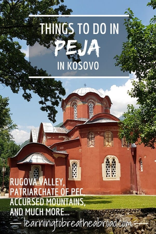 Things to do in Peja in Kosovo