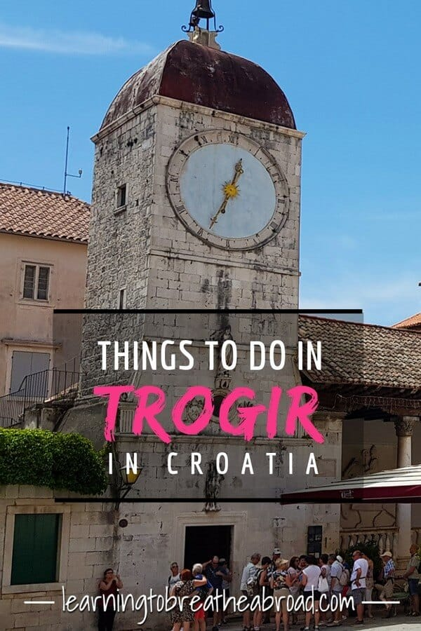 Things to do in Trogir in Croatia