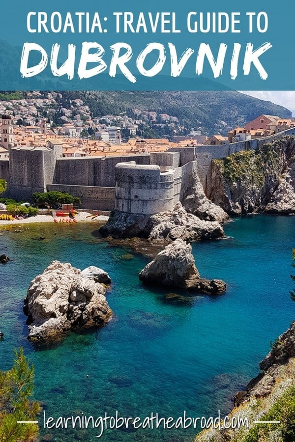 Travel Guide to Dubrovnik in Croatia
