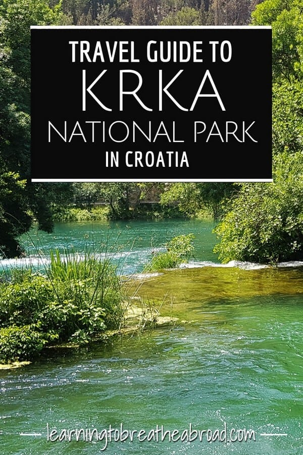 Travel guide to Krka National Park in Croatia