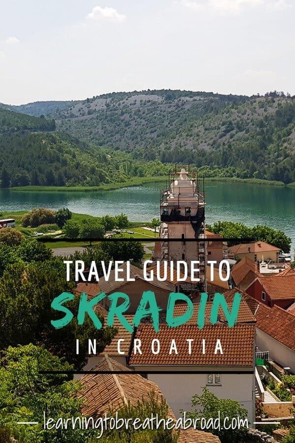 Travel guide to Skradin in Croatia