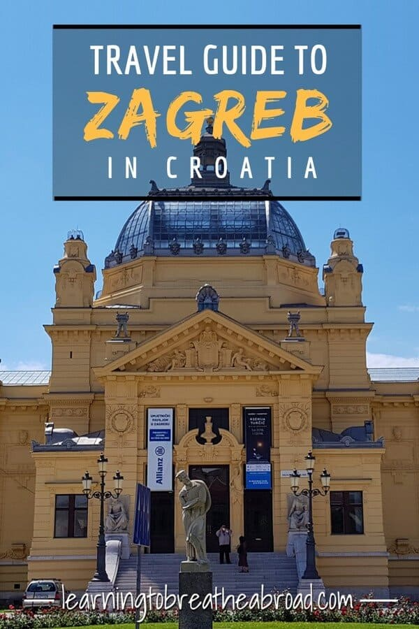 Travel guide to Zagreb in Croatia
