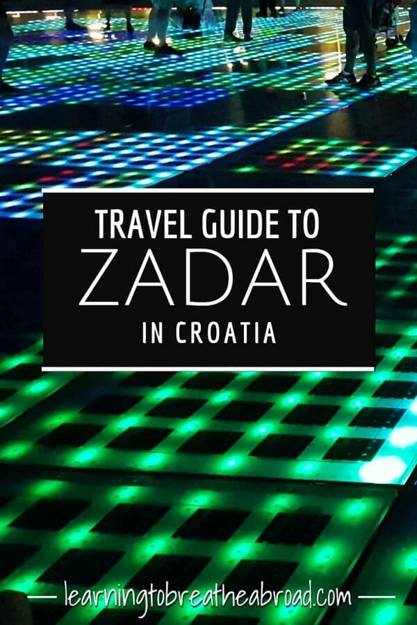Travel guide toZadar in Croatia