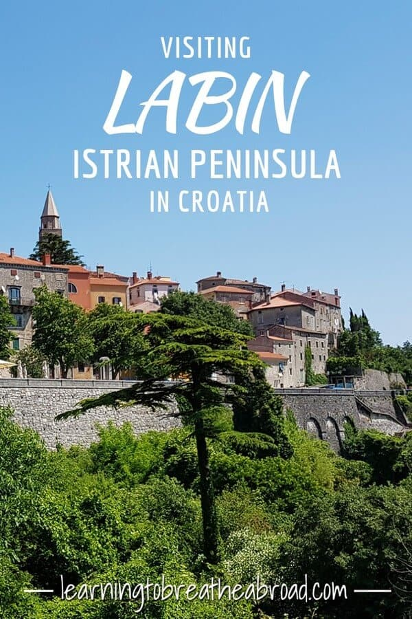 Visiting Labin on the Istrian Peninsula in Croatia