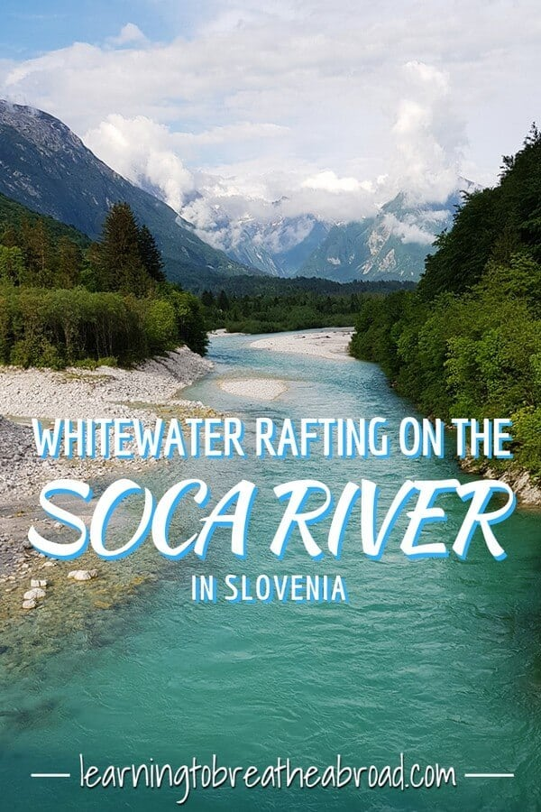 Whitewater Rafting on the Soca River in Slovenia