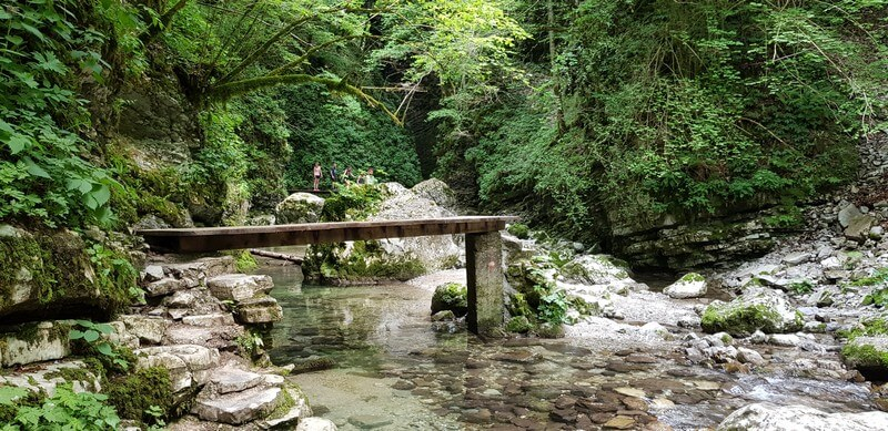 Bovec to Piran: Kozjak Waterfall, Slovenia