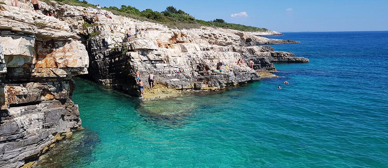 Cape Kamenjak on the Istrian Peninsula