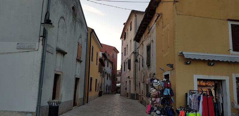 Fazana on the Istrian Peninsula in Croatia