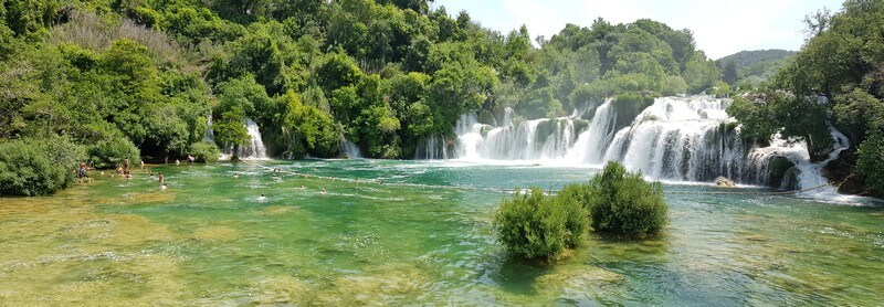 Skradinski Buk waterfall at Krka National Park