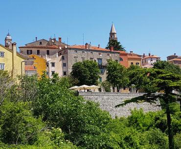 Medieval town of Labin on Istrian Peninsula in Croatia