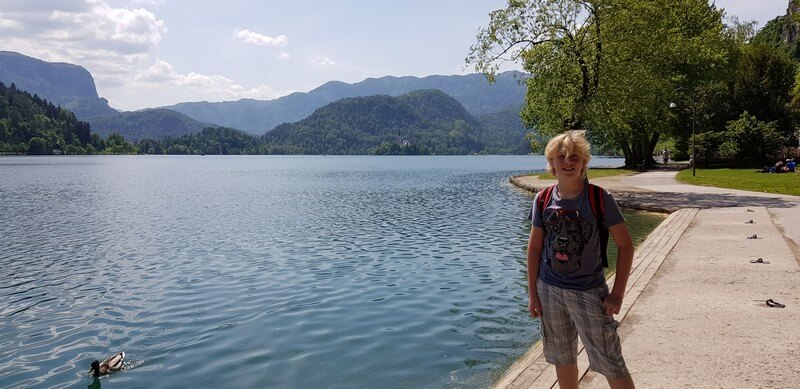 Things to do in Lake Bled: Hike to trail around the lake