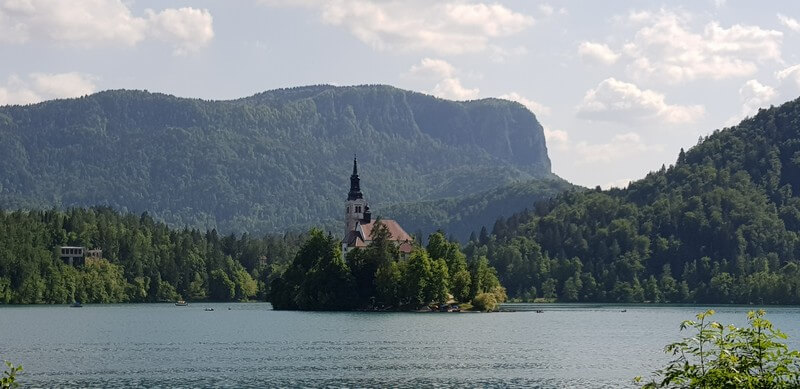 Things to do in Lake Bled: Church on Bled Island