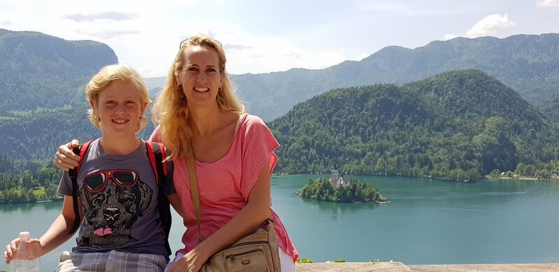 Things to do in Lake Bled: View of Lake Bled from Bled Castle