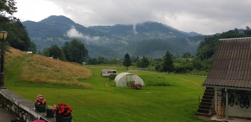 Camp Rebrenovic in Mojkovac in Montenegro