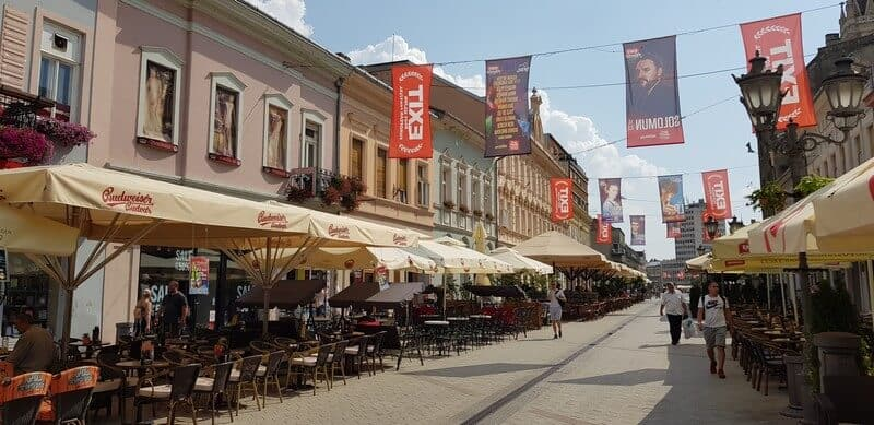 Things to see in Novi Sad: Zmaj Jovina Street