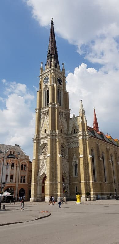 Sightseeing Tour of Novi Sad: Mary Catholic Church