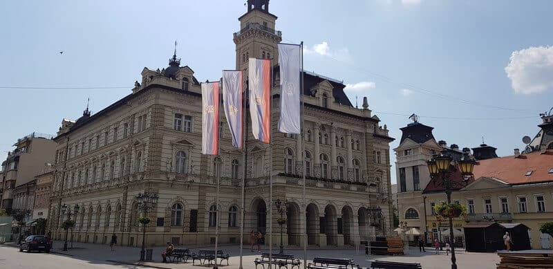 Sightseeing Tour of Novi Sad: Town Hall