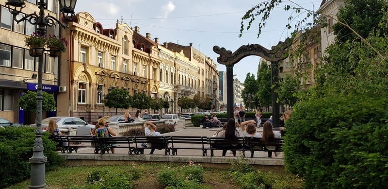 Sightseeing Tour of Novi Sad: Trg Mladenaca