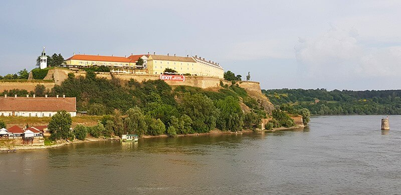 Sightseeing tour of Novi Sad: Petrovaradin Fortress