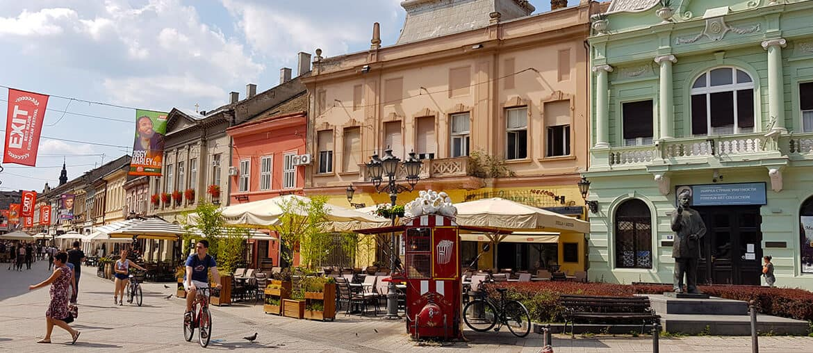A Sightseeing Tour of Novi Sad