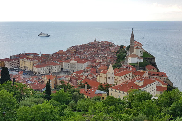 Things to see in Piran in Slovenia