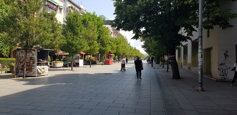 Things to do in Pristina: A city guide: Mother Theresa Boulevard