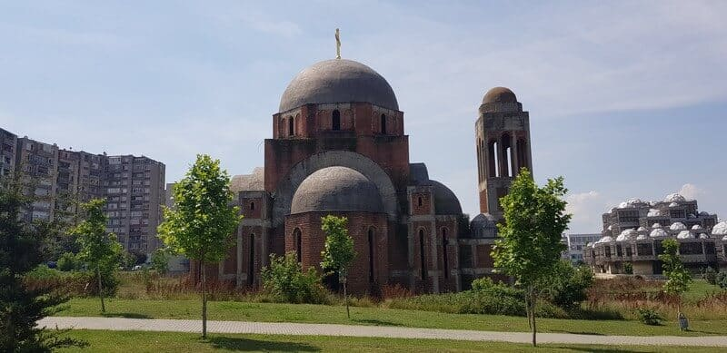 Things to do in Pristina: A city guide: Serbian Orthodox Church
