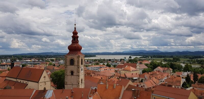 Things to see in Ptuj in Slovenia: Ptuj Castle
