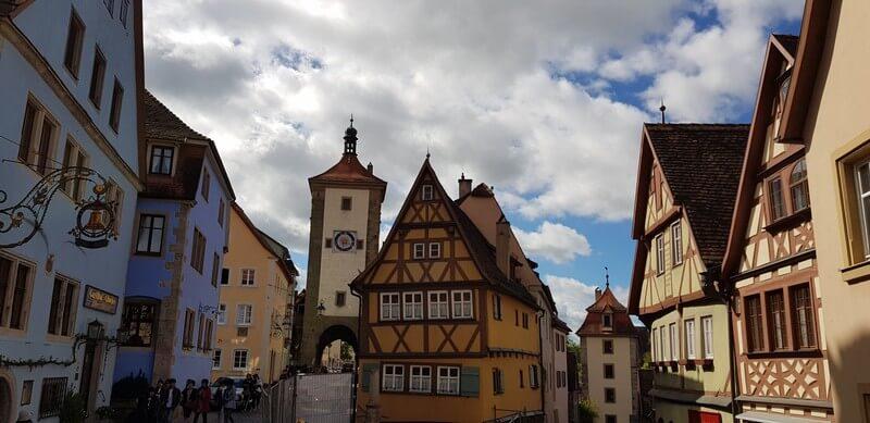Plonlein in Rothenburg ob den Tauber