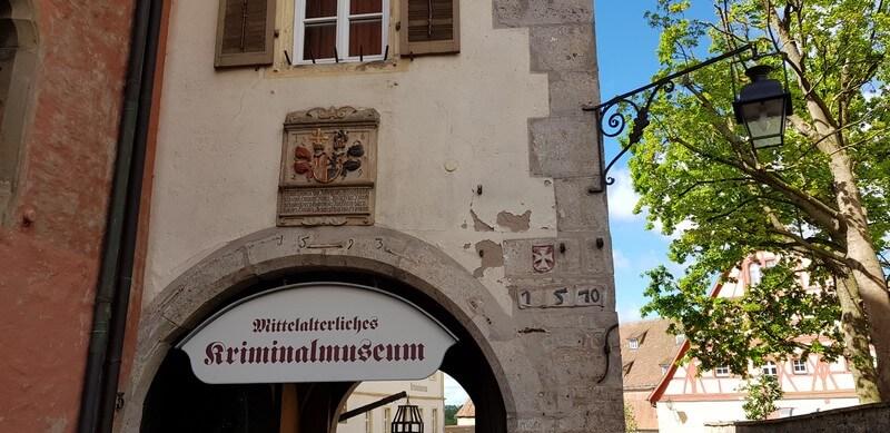 Medieval Museum in Rothenburg ob den Tauber