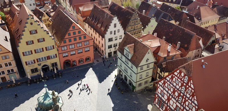 Climb the Rauthaus Tower in Rothenburg ob den tauber