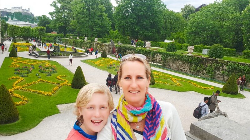 Things to see in Salzburg, Austria: Mirabelle Gardens