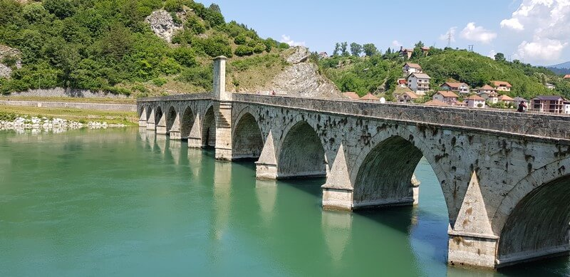 Visegrad - Bridge over Drina River