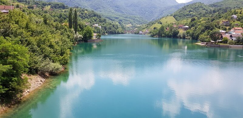 Lake Jablanica in Bosnia & Herzegovina