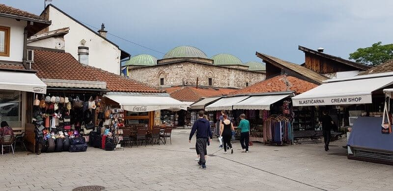 Things to do in Sarajevo: Bascarsija Square