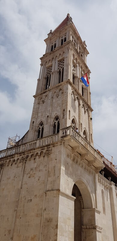 Things to do in Trogir: Climb the tower of St Lawrence