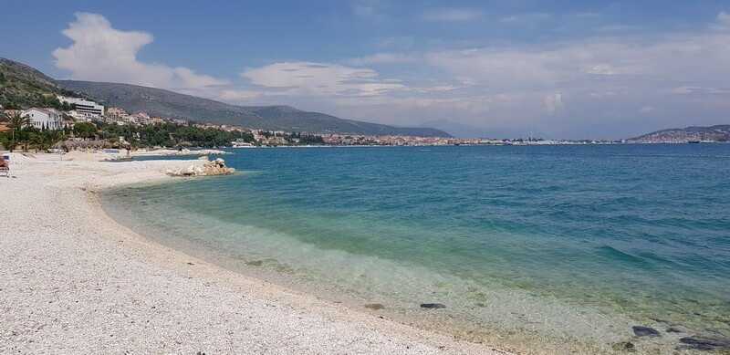 Beaches at Trogir