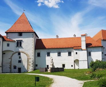 Medieval city of Varazdin in Croatia