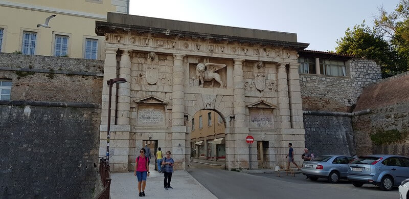 Things to do in Zadar: Land's gate