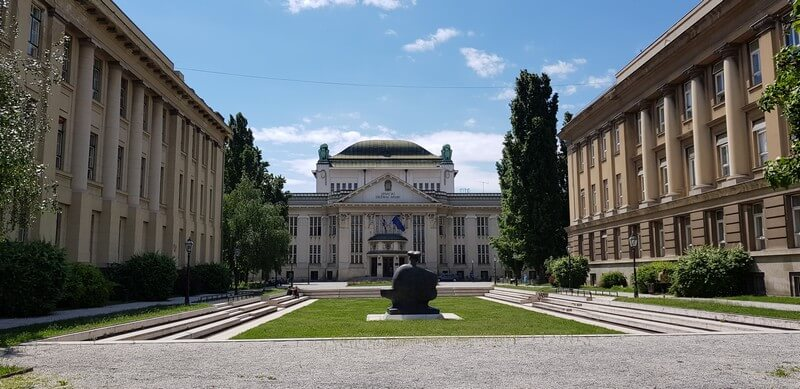 Things to see in Zagreb: Croatian State Archives Building