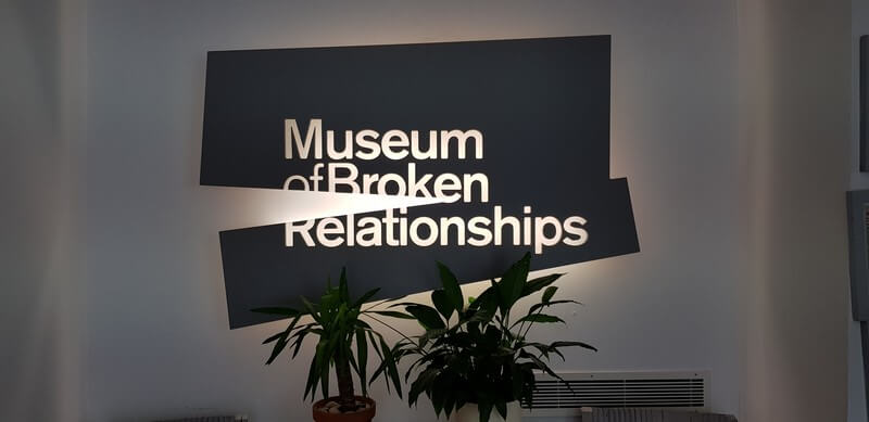 Things to see in Zagreb: Museum of Broken Relationships