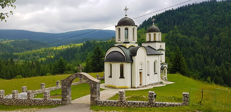 Orthodox Church of the Holy Prophet Elijah in the village of Dobroselica
