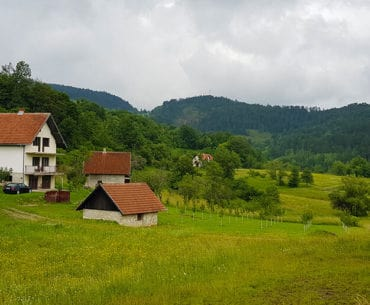 Road tripping from Zlatibor to Uvac Canyon in Serbia