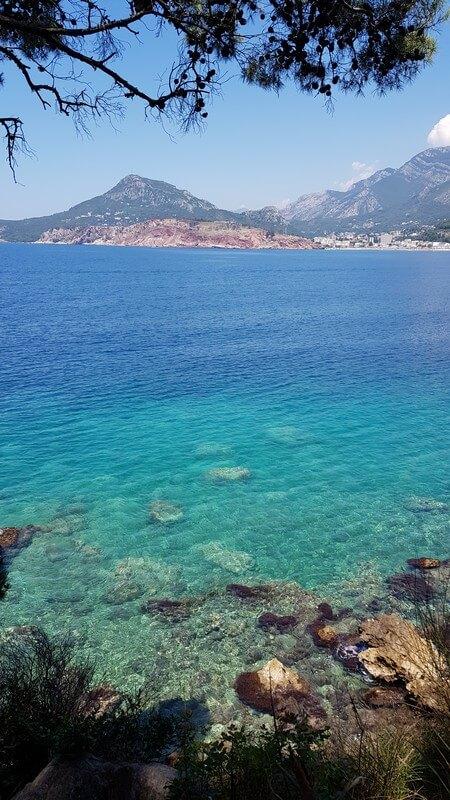 Montenegro coastline: Nudist Beach