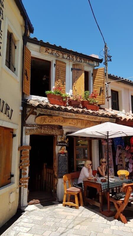 Stari Bar Cobbled Streets