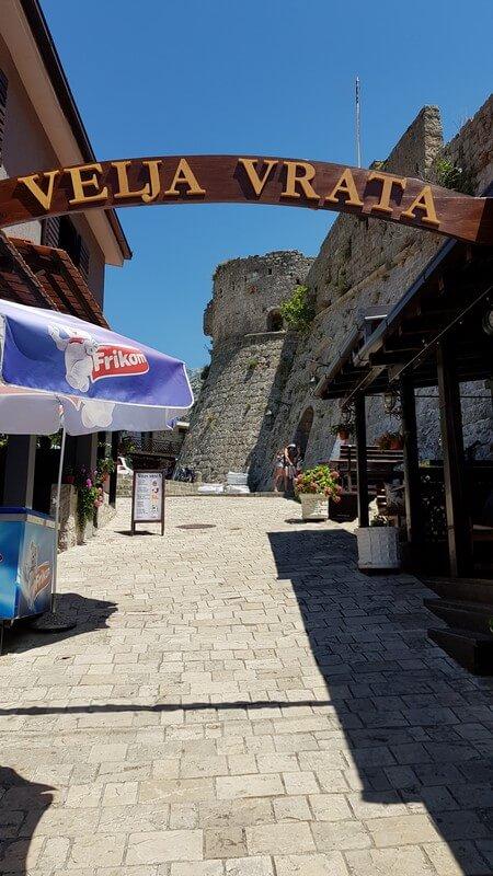 View of Stari Bar City Walls