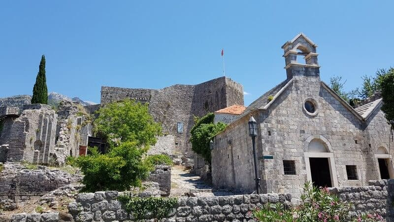 Stari Bar - Old Bar Town in Montenegro