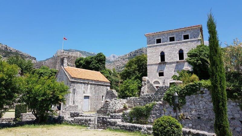 Visiting Stari Bar in Montenegro