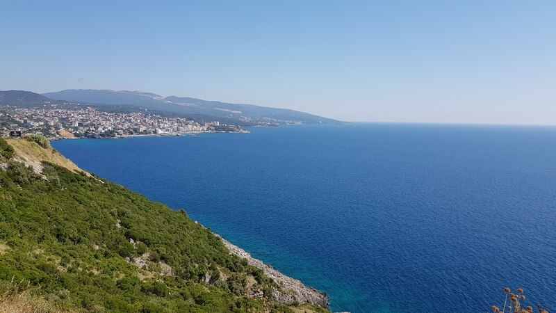 Montenegros beautiful coastline