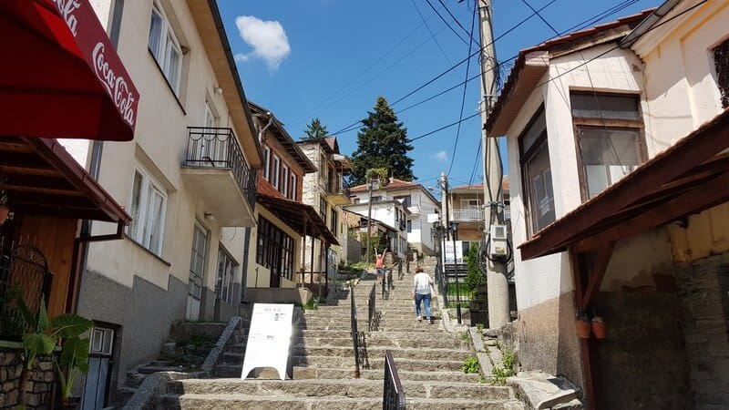 The streets of Krusevo